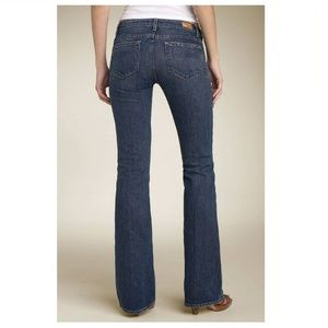 PAIGE Bootcut Jeans Hollywood Hills Size 27 Size 4
